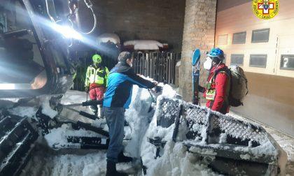 Ultimo intervento dell'anno del Soccorso alpino a Sestriere | FOTO