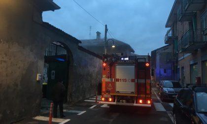 Incendio appartamento a Caselle | FOTO