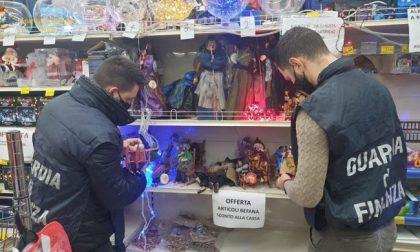 """Maxi sequestro di giocattoli pericolosi e falsi """"Made in Italy"""""""