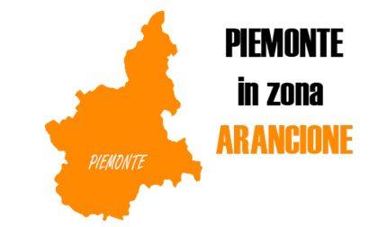 Piemonte in zona arancione da martedì, è ufficiale