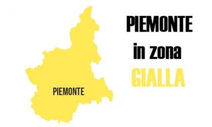 Piemonte in zona gialla: è ufficiale