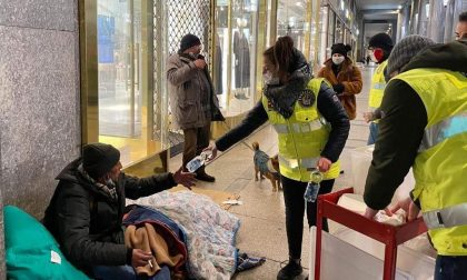 Senzatetto in difficoltà per il freddo: volontari a Torino per aiutarli