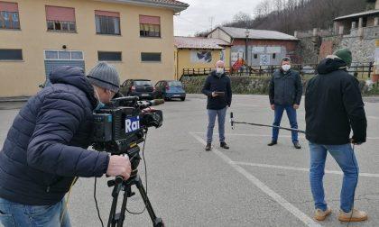 Le telecamere Rai ospiti oggi del Macam di Maglione
