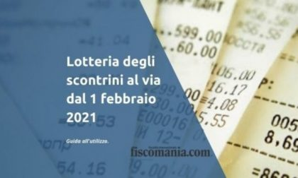 Lotteria degli Scontrini al via da oggi, ecco tutti i dettagli