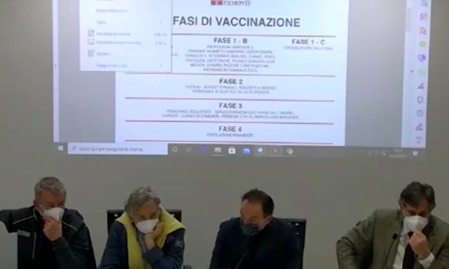 Piano Vaccinale Piemonte Il Cronoprogramma Presentato Ieri Prima Il Canavese