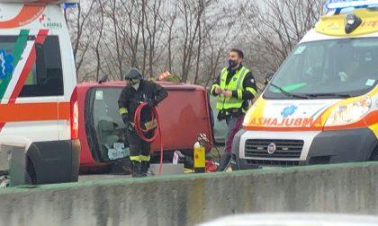 Incidente sull'autostrada A4 Torino Milano tra Chivasso Centro e Ovest