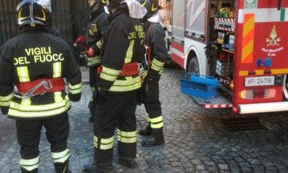 Incendio canna fumaria questo pomeriggio a Ciriè
