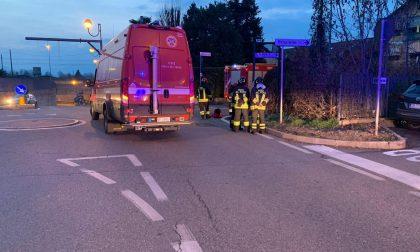 Conduttura rotta, fuga di gas a Borgaro