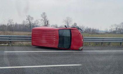 Incidente in autostrada fra Volpiano e Brandizzo