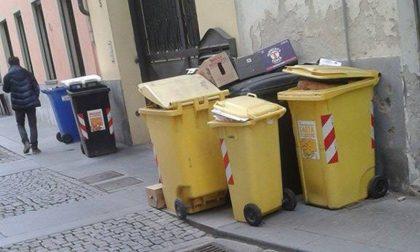Niente più calendario della raccolta rifiuti a Caselle