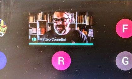 Gli studenti dell'Istituto Comprensivo di Favria hanno incontrato lo scrittore ebraista Matteo Corradini