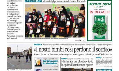 Il Canavese – edizione Rivarolo (del 10 marzo) in edicola. Ecco la prima pagina