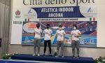 Giacomo Vota giovane promettente dell'atletica Canavesana, vince il titolo italiano nella staffetta 4×200