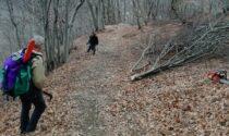 """Gli """"alfieri"""" del Valli del Canavese Trial Team ripuliscono i sentieri montani"""