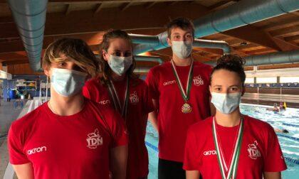 Ottimi risultati per Junior, Cadetti e Senior dell'Aquasport in vasca per i regionali