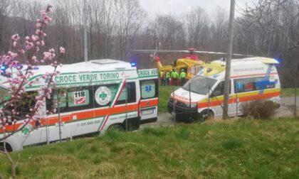 Uomo gravemente ferito dopo un ritorno di fiamma