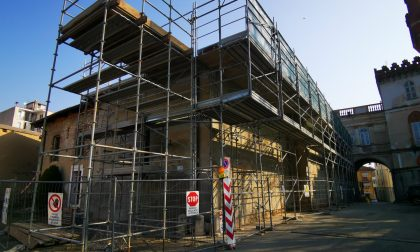 Lavori di ristrutturazione nella storica ex chiesa di San Michele a Favria
