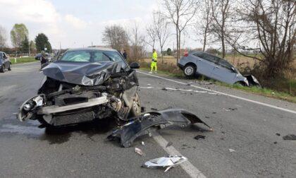 Incidente a Leini: coinvolte due auto