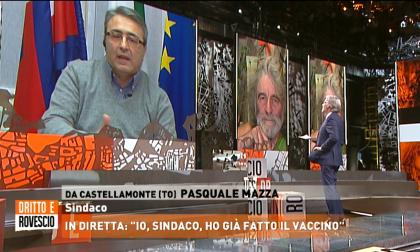 """Il sindaco Mazza ospite a """"Dritto e Rovescio"""" su Rete4: """"Vi spiego perché mi sono fatto vaccinare"""""""