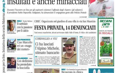 Il Canavese Ciriè e Valli di Lanzo (del 31 marzo) – Tante notizie, foto, inchieste