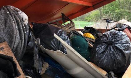 Volpiano, effettuata una raccolta straordinaria dei rifiuti abbandonati