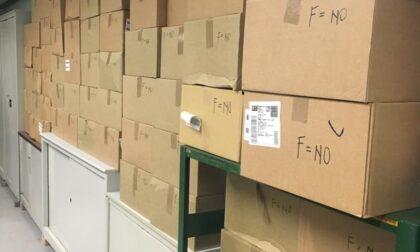 Restituite migliaia di mascherine consegnate a scuola mentre gli studenti erano in Dad