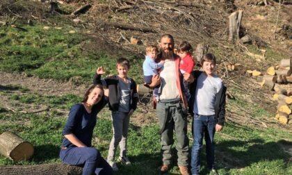Baita distrutta da un incendio a Viù, partita una raccolta fondi per aiutare genitori e i 4 bambini a ricostruirla