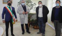 Rocca ha aperto il punto vaccinale: la visita dei deputati Bonomo e Giglio Vigna e del consigliere regionale Leone