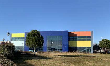 Hub vaccinale al Centro Servizi della Cittadella dello Sport di Leini