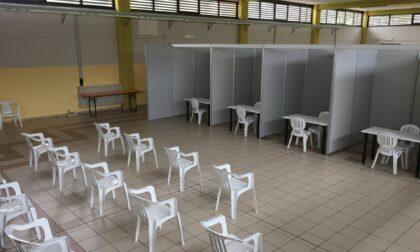 Centro vaccinale anti Covid a Bollengo