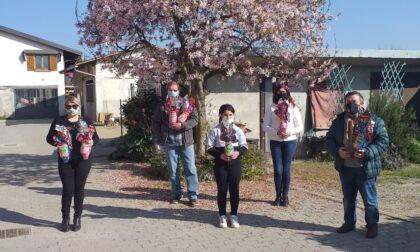 Pro loco Valperga-Belmonte: donate 450 uova di Pasqua ai giovani del paese