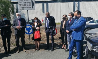 Italvolt a Scarmagno, il governatore Cirio nel sito della futura Giga Factory