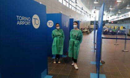Nuovo punto vaccinale all'aeroporto di Caselle, fino a 1000 vaccini al giorno
