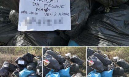 Scarica rifiuti in aperta campagna, beccato e multato dai civich