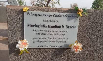 Realizzato il sogno di Mariagiulia Baudino a Zoundri