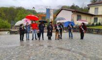 Taglio del nastro per la piazza riqualificata a Colleretto Castelnuovo