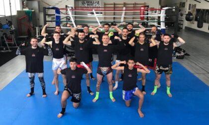 Trasferta a Sesto San Giovanni per il gruppo di atleti dediti alla thai boxe