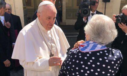 La Bambina che non sapeva odiare ha incontrato Papa Francesco