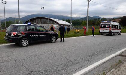 Scontro tra auto e moto a Castellamonte