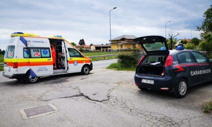 Incidente a Favria: centauro elitrasportato al CTO