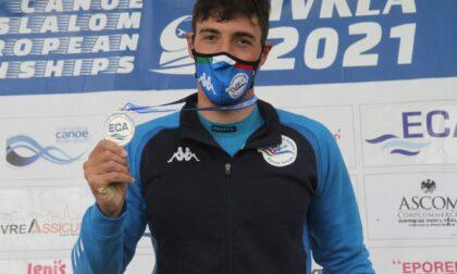 Due medaglie centrate agli Europei di canoa slalom