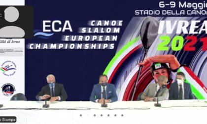 """Conto alla rovescia per gli Europei di canoa allo """"stadio"""" di Ivrea"""
