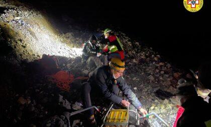 Migrante recuperato dal Soccorso Alpino a Bardonecchia