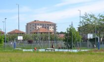 San Maurizio inaugura il campo da basket