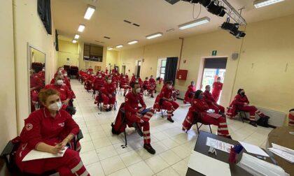 Corso volontari per la Croce Rossa a Fiano