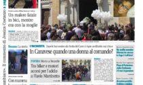 Il Canavese – edizione Rivarolo (del 02 giugno) in edicola. Ecco la prima pagina