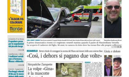 Il Canavese – edizione Rivarolo (del 09 giugno) in edicola. Ecco la prima pagina