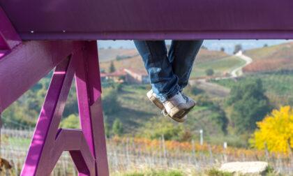 Castelnuovo Nigra aderisce alla settimana Nazionale delle panchine viola