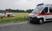 Cade in motocicletta: centauro elitrasportato al Cto di Torino