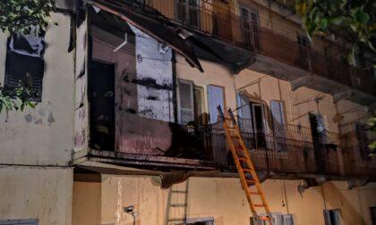 Appartamento a fuoco a Pont, alloggio distrutto dalle fiamme